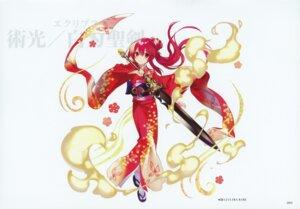 Rating: Safe Score: 9 Tags: kairisei_million_arthur kimono sword tagme User: Radioactive