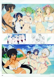 Rating: Questionable Score: 21 Tags: ass asuka_(senran_kagura) bikini breast_hold eyepatch haruka_(senran_kagura) hikage homura_(senran_kagura) line_art mirai_(senran_kagura) miyabi_(senran_kagura) senran_kagura senran_kagura:_peach_beach_splash sketch swimsuits tan_lines tattoo torn_clothes yaegashi_nan yomi_(senran_kagura) yumi_(senran_kagura) User: kiyoe