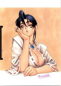 Rating: Safe Score: 13 Tags: cleavage miko no_bra psikyo sengoku_ace sengoku_blade togashi_koyori tsukasa_jun User: Umbigo