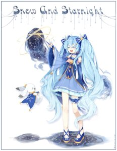 Rating: Safe Score: 49 Tags: dress garter hatsune_miku nishina_hima vocaloid weapon yuki_miku User: Mr_GT