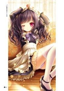 Rating: Safe Score: 35 Tags: heels maid momijidani_nozomi pantsu see_through tagme tenshi_no_three_piece! thighhighs tinkle User: kiyoe