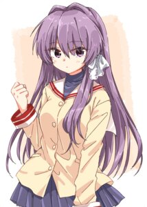 Rating: Safe Score: 15 Tags: clannad fujibayashi_kyou matsuda_hikari seifuku User: saemonnokami