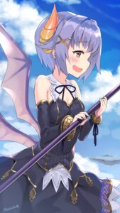 Rating: Safe Score: 36 Tags: cleavage dress granblue_fantasy horns koshimizu_sachiko kuro_chairo_no_neko the_idolm@ster the_idolm@ster_cinderella_girls weapon wings User: Mr_GT