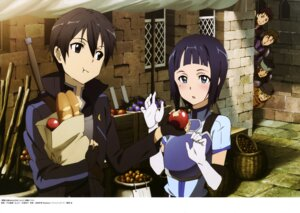 Rating: Safe Score: 29 Tags: armor kirito sachi_(sword_art_online) sword_art_online toya_kento User: drop