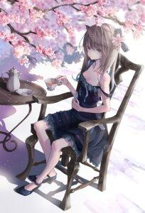 Rating: Safe Score: 51 Tags: cleavage dress heels no_bra shima0917 summer_dress User: BattlequeenYume