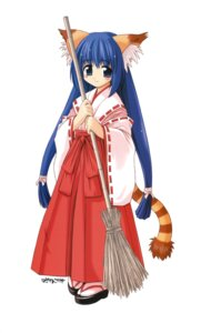 Rating: Safe Score: 7 Tags: animal_ears miko tail User: Radioactive