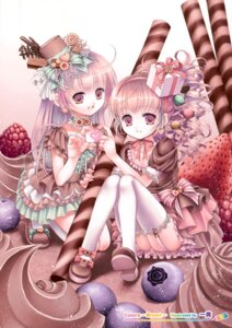 Rating: Safe Score: 32 Tags: kazumi lolita_fashion stockings thighhighs User: Hatsukoi