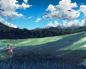 Rating: Safe Score: 31 Tags: landscape maribel_han touhou usami_renko yamane_masato User: konstargirl