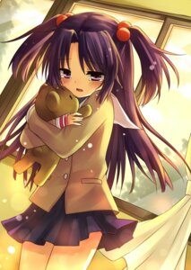 Rating: Safe Score: 34 Tags: amene_kurumi clannad ichinose_kotomi seifuku User: fireattack