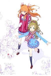 Rating: Safe Score: 20 Tags: granada_level9 houjou_hibiki hummy kuroboshi_kouhaku minamino_kanade pretty_cure suite_pretty_cure User: fireattack