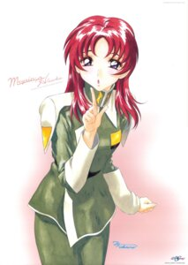 Rating: Safe Score: 4 Tags: fukano_youichi gundam gundam_seed gundam_seed_destiny meyrin_hawke uniform User: Radioactive