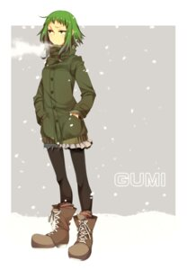Rating: Safe Score: 9 Tags: gumi haruka_(artist) pantyhose vocaloid User: animeprincess