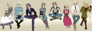 Rating: Safe Score: 6 Tags: america belarus canada denmark dress finland france germany hetalia_axis_powers hungary kuro_(pixiv332533) liechtenstein megane north_italy norway prussia russia sweden switzerland uniform united_kingdom User: Radioactive
