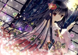 Rating: Safe Score: 81 Tags: houraisan_kaguya lolita_fashion touhou wa_lolita yuzu_osamu User: chennengping