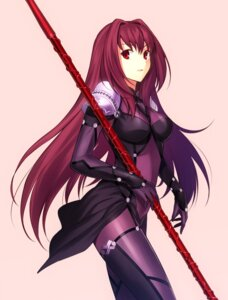Rating: Safe Score: 88 Tags: bodysuit fate/grand_order fate/stay_night fuyuki_(neigedhiver) scathach_(fate/grand_order) stockings thighhighs weapon User: v2baster