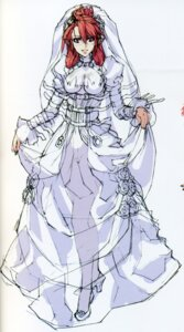 Rating: Safe Score: 21 Tags: dress ignis jingai_makyou nitroplus niθ wedding_dress User: ttfn