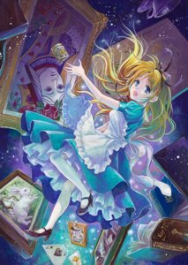 Rating: Safe Score: 17 Tags: alice alice_in_wonderland dress queen_of_hearts thighhighs toyoda_izumi white_rabbit User: Radioactive