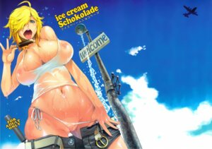 Rating: Explicit Score: 51 Tags: asaki_blog_shucchousho asaki_takayuki cameltoe cleavage cream jormungand nipples no_bra pantsu panty_pull schokolade see_through string_panties undressing wet wet_clothes User: eridani