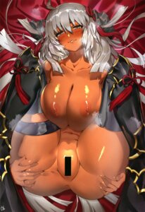 Rating: Explicit Score: 33 Tags: anus armor censored fate/grand_order garter naked nanaya_(daaijianglin) nipples okita_souji_(alter)_(fate) thighhighs User: kiyoe