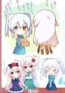 Rating: Questionable Score: 9 Tags: chibi dress heterochromia mishima_kurone umbrella User: Radioactive