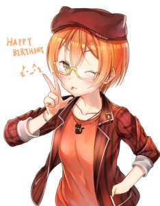 Rating: Safe Score: 15 Tags: hachinatsu hoshizora_rin love_live! megane User: charunetra