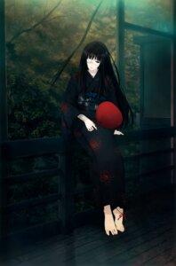 Rating: Safe Score: 19 Tags: bandages cartagra eyepatch feet kimono sugina_miki yomiko User: Hatsukoi