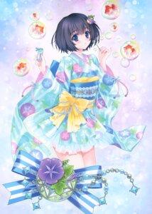 Rating: Safe Score: 21 Tags: asagao carnelian japanese_clothes kimono see_through User: Radioactive