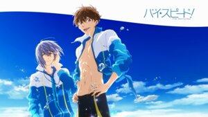 Rating: Safe Score: 7 Tags: free! high_speed! kirishima_natsuya male nishiya_futoshi serizawa_nao swimsuits User: kunkakun
