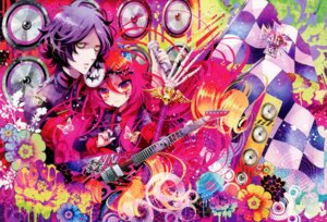 Rating: Safe Score: 11 Tags: guitar horns naki_ringo two_lovers User: Aurelia