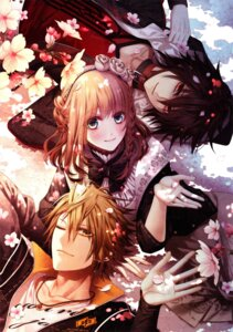 Rating: Safe Score: 15 Tags: amnesia hanamura_mai shin_(amnesia) shujinkou_(amnesia) toma_(amnesia) User: animeprincess