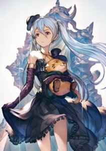 Rating: Safe Score: 69 Tags: dress granblue_fantasy minaba_hideo skirt_lift User: ferkunxd