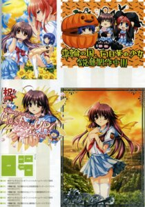 Rating: Safe Score: 4 Tags: alpha halloween seifuku sharin_no_kuni_himawari_no_shoujo thighhighs User: admin2