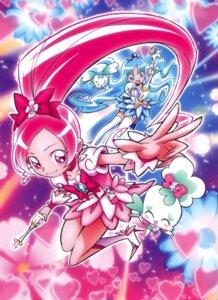 Rating: Safe Score: 3 Tags: hanasaki_tsubomi heartcatch_pretty_cure! kurumi_erika pretty_cure umakoshi_yoshihiko User: Onpu