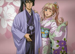 Rating: Safe Score: 14 Tags: kimono macross macross_frontier saotome_alto scanning_artifacts sheryl_nome User: ale-tan