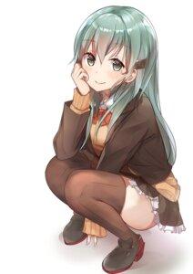 Rating: Safe Score: 42 Tags: heels kantai_collection seifuku suzuya_(kancolle) tagme thighhighs User: fairyren