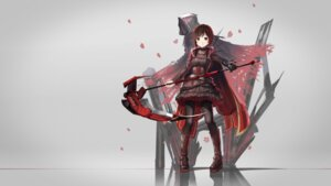 Rating: Safe Score: 45 Tags: dress pantyhose red_flowers ruby_rose rwby weapon User: Mr_GT