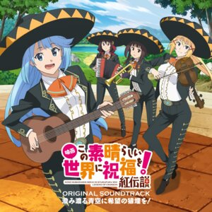 Rating: Safe Score: 11 Tags: aqua_(kono_subarashii_sekai_ni_shukufuku_wo!) crossdress darkness_(kono_subarashii_sekai_ni_shukufuku_wo!) disc_cover guitar kono_subarashii_sekai_ni_shukufuku_wo! megumin raratina_dustiness_ford yunyun_(kono_subarashii_sekai_ni_shukufuku_wo!) User: blooregardo