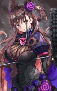 Rating: Safe Score: 34 Tags: 666_(ro_ro_ro3) dress fate/grand_order murasaki_shikibu_(fate) umbrella User: Mr_GT