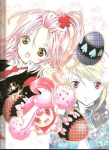 Rating: Safe Score: 3 Tags: binding_discoloration hinamori_amu hotori_tadase peach-pit ran shugo_chara User: noirblack