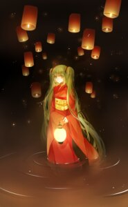 Rating: Safe Score: 29 Tags: cui_(jidanhaidaitang) hatsune_miku kimono vocaloid wet User: charunetra