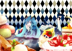Rating: Safe Score: 14 Tags: hatsune_miku mirunai vocaloid wallpaper User: Radioactive