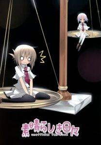 Rating: Safe Score: 6 Tags: karomix karory seifuku subarashiki_hibi tachibana_kimika thighhighs User: midzki