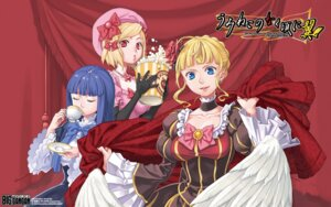 Rating: Safe Score: 6 Tags: beatrice dress frederica_bernkastel ito_fumi lambdadelta umineko_no_naku_koro_ni wallpaper User: blooregardo