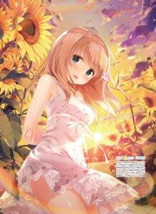 Rating: Safe Score: 104 Tags: dress kimishima_ao momoi_saki see_through summer_dress User: Twinsenzw