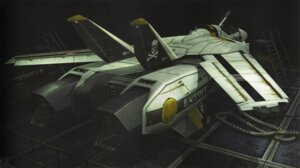 Rating: Safe Score: 4 Tags: binding_discoloration macross mecha tenjin_hidetaka User: oldwrench