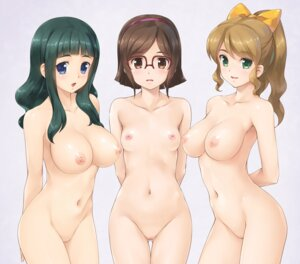 Rating: Explicit Score: 85 Tags: censored gundam gundam_build_fighters kousaka_china megane naked nipples ohtake_akemi pussy samejima_yukari wacchi User: Radioactive