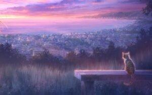Rating: Safe Score: 68 Tags: goto-p landscape narcissu neko wallpaper User: moonian