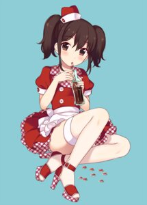 Rating: Safe Score: 46 Tags: dress heels maki_(natoriumu) thighhighs User: Mr_GT