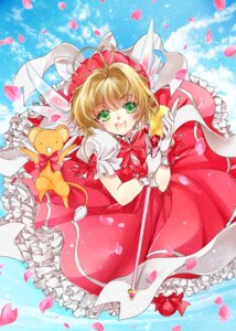 Rating: Safe Score: 16 Tags: card_captor_sakura dress kero kinomoto_sakura tsuna2727 weapon wings User: charunetra