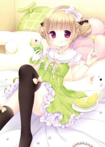 Rating: Safe Score: 55 Tags: dress mizuse_ruka thighhighs User: Twinsenzw
